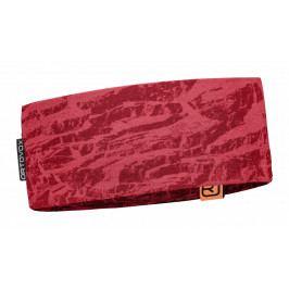 Čelenka Ortovox 120 Tec Headband Barva: růžová/vínová