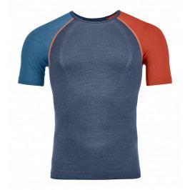 Pánské triko Ortovox 120 Competition Light Short Sleeve Velikost: S / Barva: tmavě modrá