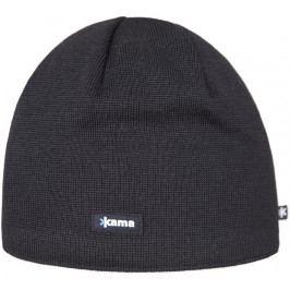Pletená Merino čepice Kama AW19 Velikost: UNI / Barva: černá