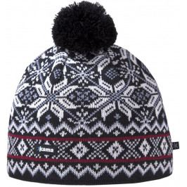 Pletená Merino čepice Kama AW06 Velikost: UNI / Barva: černá