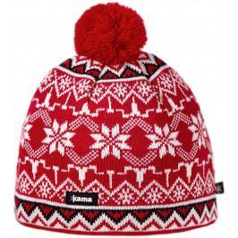 Pletená Merino čepice Kama A106 Velikost: UNI / Barva: červená