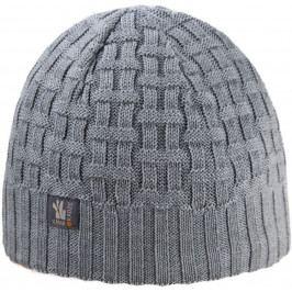 Pletená Merino čepice Kama A112 Velikost: UNI / Barva: šedá