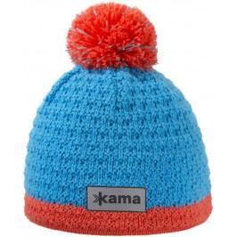 Dětská pletená Merino čepice Kama B71 Velikost: M / Barva: tyrkysová
