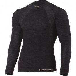 Pánské funkční triko Lasting Wapol 9090 Velikost: S-M / Barva: černá