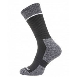 Ponožky SealSkinz Solo Quickdry Mid Length sock Velikost ponožek: 43-46 (L) / Barva: černá