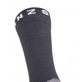 Ponožky SealSkinz Soft Touch Mid Length sock Velikost ponožek: 47-49 (XL) / Barva: černá