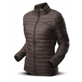 Dámská péřová bunda Trimm Beret Lady Velikost: XL / Barva: hnědá