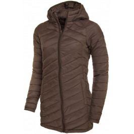 Dámská péřová bunda Trimm Lavena Velikost: M / Barva: hnědá