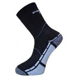 Ponožky Progress P TRB 8QA Trail Bamboo Velikost: 43-47 (9-12) / Barva: černá/šedá