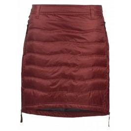 Péřová sukně Skhoop Short Down červená (2018) Velikost: M (38) / Barva: červená