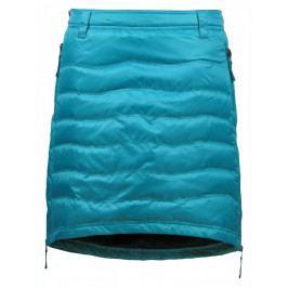 Péřová sukně Skhoop Short Down modrá (2018) Velikost: L (40) / Barva: modrá