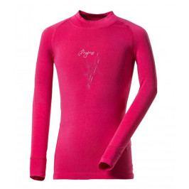 Dětské funkční triko Progress DT E NDRD 26DB Dětská velikost: 152 / Barva: růžová
