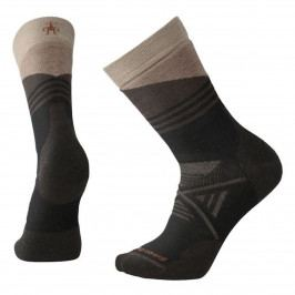 Ponožky Smartwool Phd Outdoor Medium Pattern Crew Velikost ponožek: 38-41 / Barva: černá
