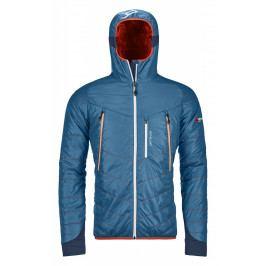 Pánská bunda Ortovox Piz Boé Jacket Velikost: XL / Barva: modrá/oranžová