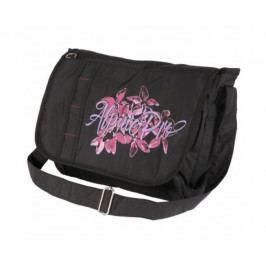 Dámská kabelka Alpine Pro Hari Barva: černá