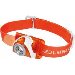 Čelovka Ledlenser SEO 3 + DÁREK ZDARMA Barva: oranžová