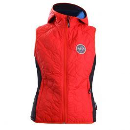 Dámská vesta Northfinder Peyton Velikost: S / Barva: červená