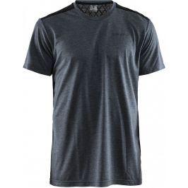 Pánské triko Craft Charge Velikost: L / Barva: šedá