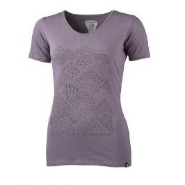 Dámské triko Northfinder Pamfilia Velikost: M / Barva: fialová