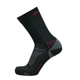 Ponožky Apasox Kazbek Velikost ponožek: 35-38 / Barva: černá