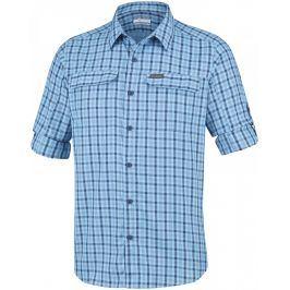 Pánská košile Columbia Silver Ridge 2.0 Plaid L Velikost: L / Barva: modrá