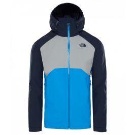 Pánská bunda The North Face Stratos Velikost: XL / Barva: šedá/modrá