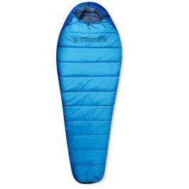 Spacák Trimm Walker 185 cm Barva: Sea Blue / Mid. Blue / Velikost spacáku: 185cm / Zip: Pravý