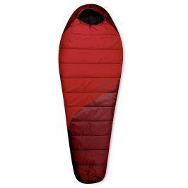 Spacák Trimm Balance 185 cm Zip: P / Barva: Red / Dark Red / Velikost spacáku: 185 cm