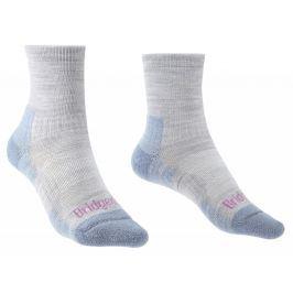 Dámské ponožky Bridgedale Hike Lightweight MP Ankle Velikost ponožek: 41-43 / Barva: světle modrá