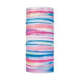 Dětský šátek Buff Coolnet UV+ Junior Barva: bílá/růžová/modrá