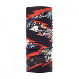 Dětský šátek Buff Coolnet UV+ Junior Barva: černá/červená