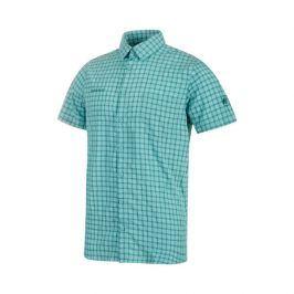 Pánská košile Mammut Lenni Shirt Men Velikost: M / Barva: světle modrá