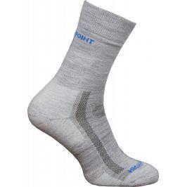 Ponožky High Point Trek Merino Socks Velikost ponožek: 43-47 / Barva: šedá