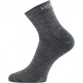 Ponožky Lasting WHO Velikost ponožek: 34-37 (S) / Barva: šedá