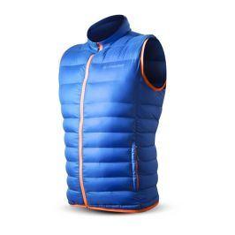 Pánská vesta Trimm Whisper Velikost: XL / Barva: jeans blue/orange