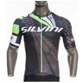 Pánský cyklo dres Silvini Team MD1400 Velikost: XL / Barva: černá