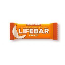 Tyčinka Lifefood Lifebar Meruňková RAW BIO 47 g