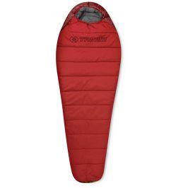 Spacák Trimm Walker 195 cm Barva: Red / Dark Red / Velikost spacáku: 195cm / Zip: Levý