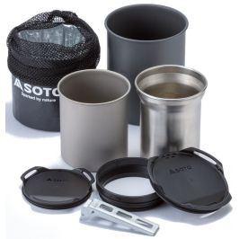 Sada nádobí Soto Thermostack + Cook Set Combo Barva: černá