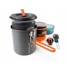 GSI Outdoors Sada nádobí GSI Halulite Microdualist