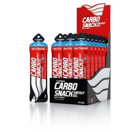 Energetický gel Nutrend Carbosnack Kofein sáček Příchuť: modrá malina