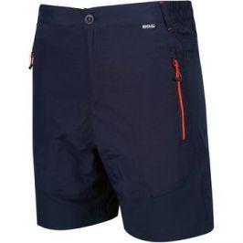 Pánské kraťasy Regatta Sungari Shorts Velikost: M (34) / Barva. modrá / oranžová