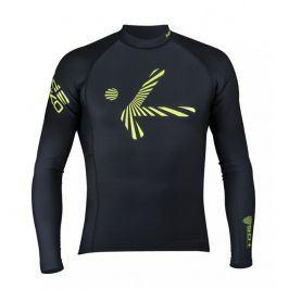 Pánské triko s dlouhým rukávem Hiko Shade Plush Velikost: L / Barva: černá
