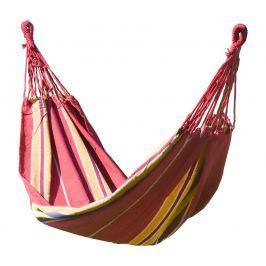 Houpací síť Cattara Textil Barva: červená/žlutá