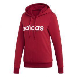Dámská mikina Adidas Essentials Linear OH Velikost: L / Barva: červená