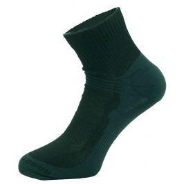 Ponožky Zulu Merino Men lite Velikost ponožek: 43-47 / Barva: černá
