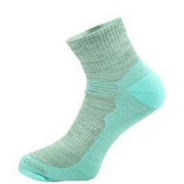 Ponožky Zulu Merino Women lite Velikost ponožek: 35-38 / Barva: světle modrá