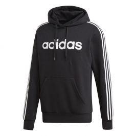 Pánská mikina Adidas E 3S PO FL Velikost: M / Barva: černá