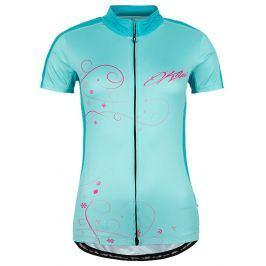 Dámský cyklistický dres Kilpi Velocity-W Velikost: XS (34) / Barva: TRQ