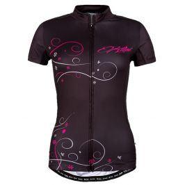 Dámský cyklistický dres Kilpi Velocity-W Velikost: S (36) / Barva: BLK